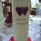 Wedding Candle - glenfinnan candles